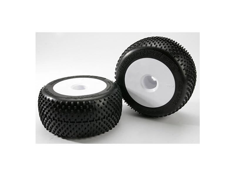 "Traxxas kolo 3.8"", disk Dished bílý, pneu Response Pro S1 (2), Traxxas 5375R, TRA5375R"