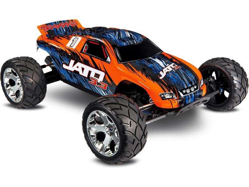Traxxas Nitro Jato 1:10 TQi BlueTooth RTR oranžové