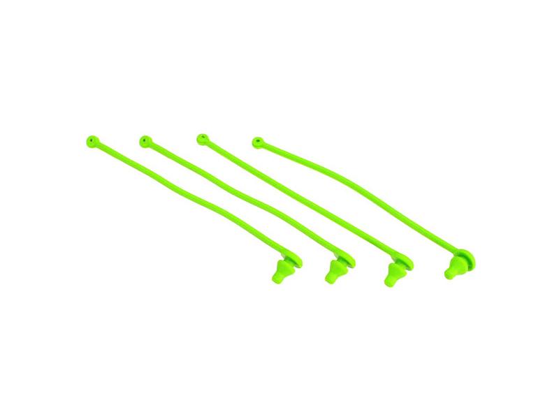 Traxxas plastový klip karosérie zelený (4), Traxxas 5753, TRA5753