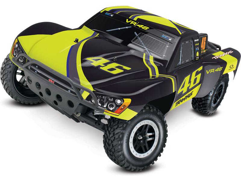Traxxas Slash 1:10 RTR Valentino Rossi, TRA58034-1-R, Traxxas 58034-1-R