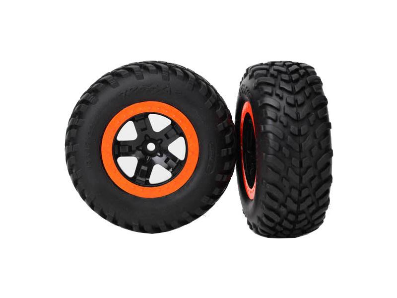 """Traxxas kolo 2.2/3.0"""", disk SCT černo-oranžový, pneu SCT S1 (2), Traxxas 5863R, TRA5863R"""