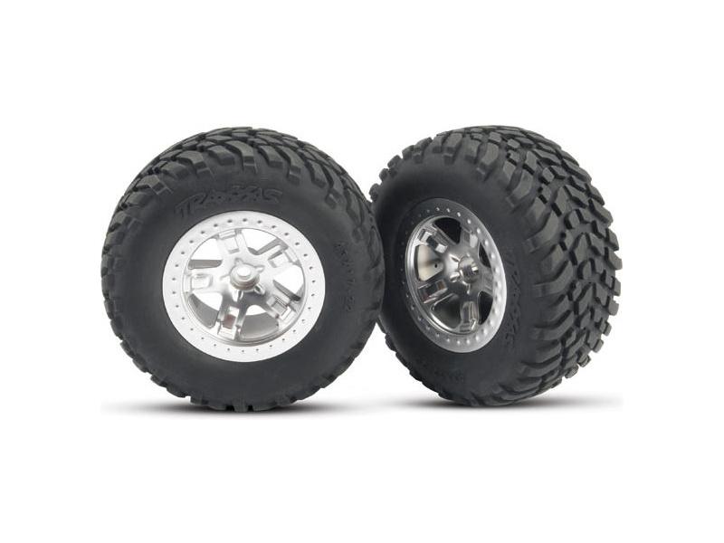 """Traxxas kolo 2.2/3.0"""", disk SCT saténový, pneu SCT (2) (2WD přední), Traxxas 5875, TRA5875"""