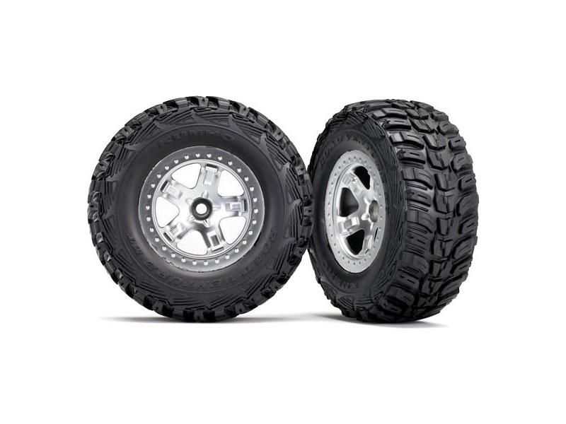 "Traxxas kolo 2.2/3.0"", disk SCT saténový, pneu Kumho (2) (2WD přední), Traxxas 5881X, TRA5881X"