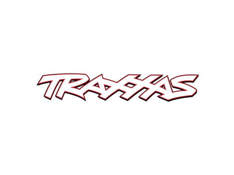 Traxxas PVC samolepka bílá 48x10cm