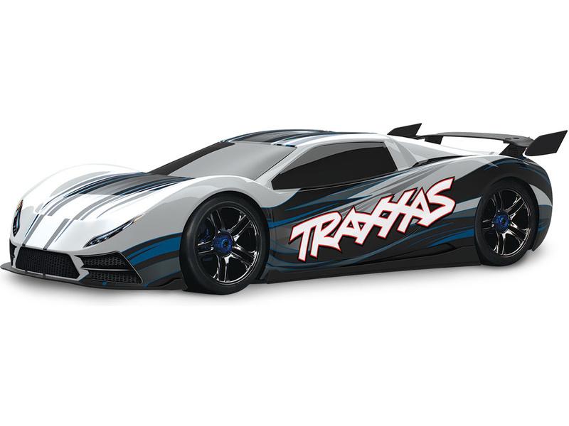 Traxxas XO-1 1:7 TQi BlueTooth RTR bílé, TRA64077-3-WHT