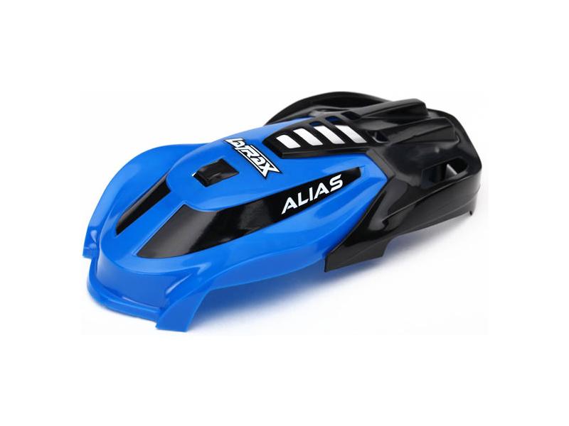 Traxxas kabina modrá, vrut 1.6x5 (3): LaTrax Alias, Traxxas 6612, TRA6612