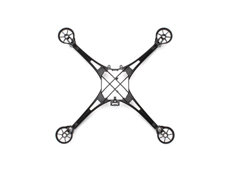Traxxas hlavní šasi černé: LaTrax Alias, Traxxas 6623, TRA6623