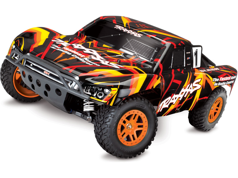 Traxxas Slash 1:10 4WD RTR oranžový, TRA68054-1-ORN, Traxxas 68054-1-ORN