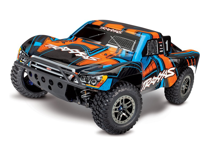 Traxxas Slash Ultimate 1:10 4WD VXL TQi RTR oranžový, TRA68077-4-ORN, Traxxas 68077-4-ORN