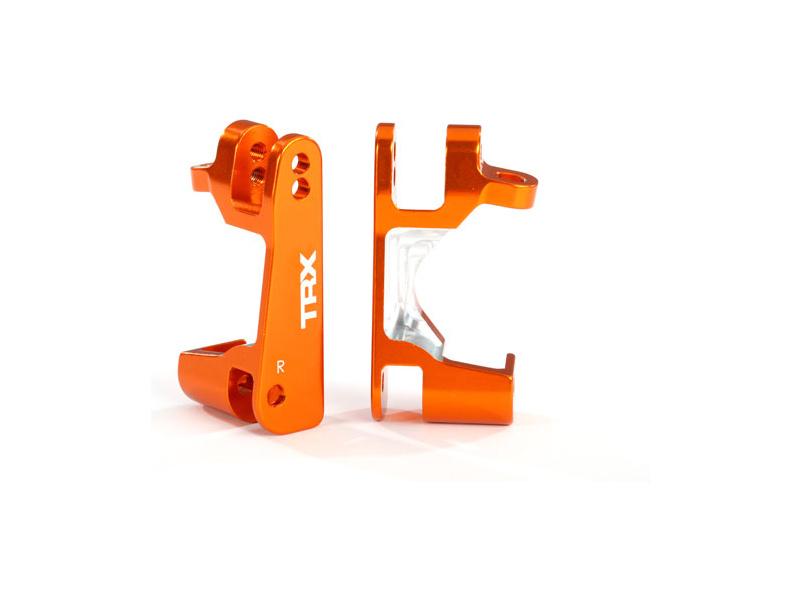 Traxxas závěs těhlice hliníkový orange (pár), Traxxas 6832A, TRA6832A