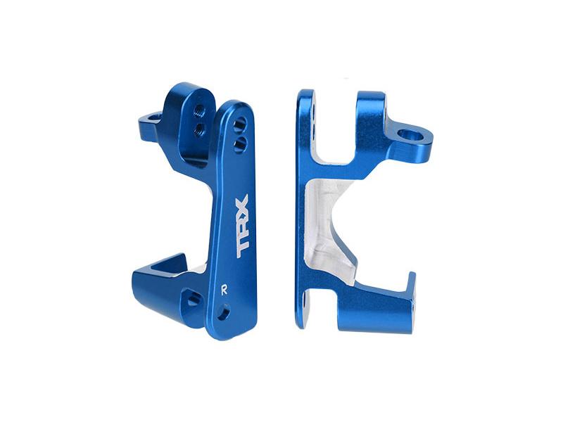 Traxxas závěs těhlice hliníkový modrý (pár), Traxxas 6832X, TRA6832X