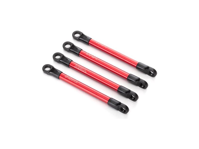 Traxxas ojnička stavitelná hliníková červená (4), TRA7118X