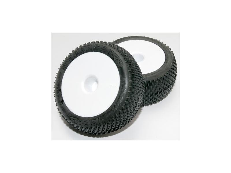 "Traxxas kolo 2.2"", disk Dished bílý, pneu Response Pro (2), Traxxas 7175, TRA7175"