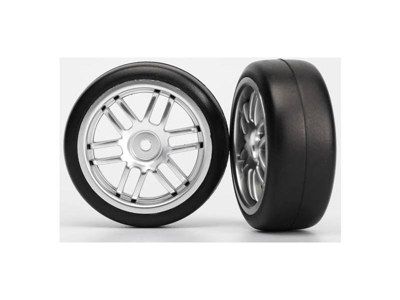 """Traxxas kolo 1.9"""", disk Rally saténový, pneu Gymkhana (2), Traxxas 7376A, TRA7376A"""