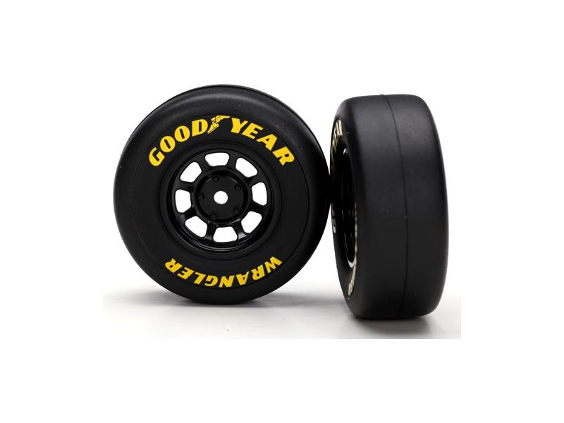 """Traxxas kolo 1.9"""", disk 8-spoke černý, pneu Goodyear Wrangler (2), Traxxas 7378, TRA7378"""