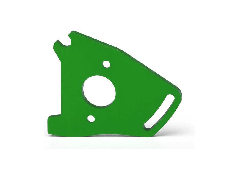 Traxxas lože motoru hliníkové zelené, Traxxas 7490G, TRA7490G