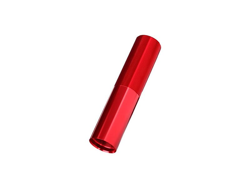 Traxxas tělo tlumiče GTX hliníkové červené (1)