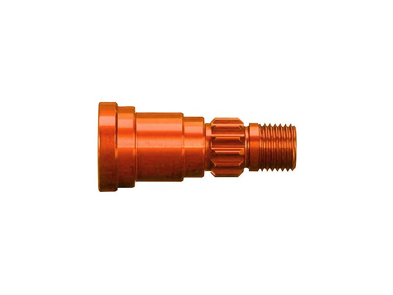 Traxxas hliníková hřídel kola oranžová (1) (pro #7750X), TRA7768T