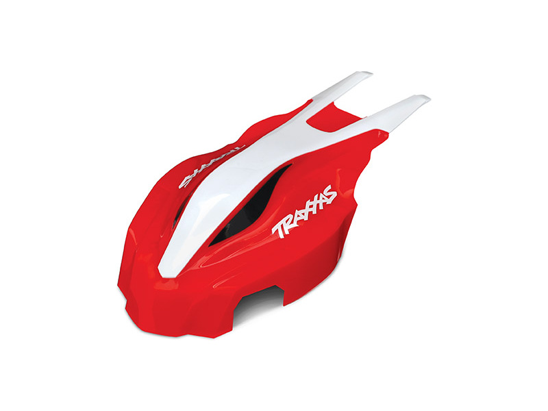 Traxxas kapotáž přední červená/bílá: Aton, Traxxas 7911, TRA7911