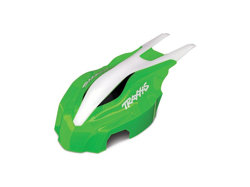 Traxxas kapotáž přední zelená/bílá: Aton, Traxxas 7914, TRA7914