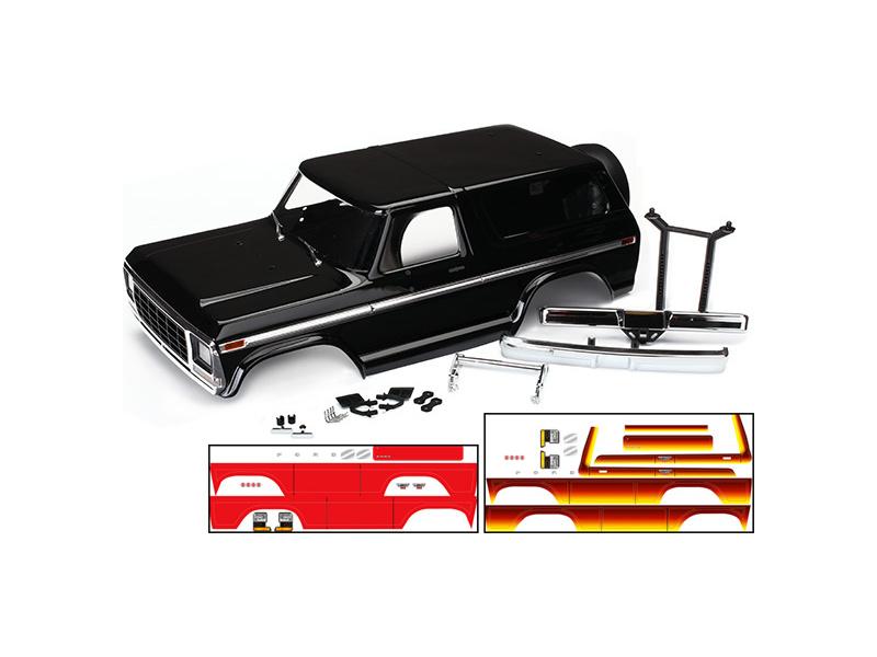 Traxxas karosérie Ford Bronco černá: TRX-4, Traxxas 8010X, TRA8010X