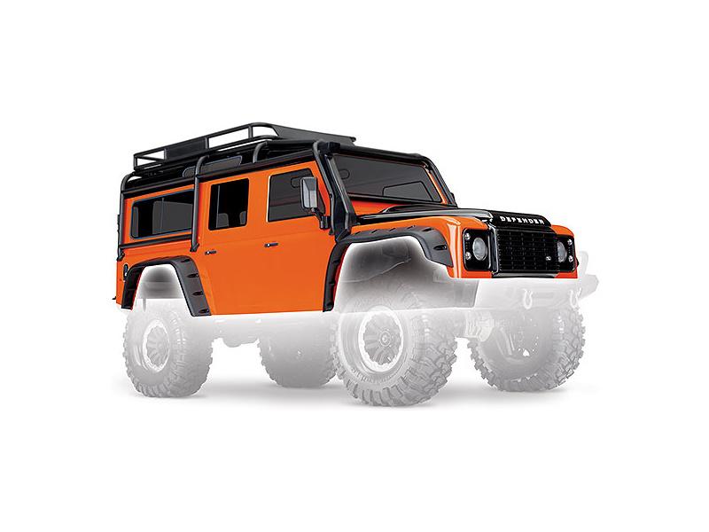 Traxxas karosérie Land Rover Defender Adventure: TRX-4, Traxxas 8011A, TRA8011A