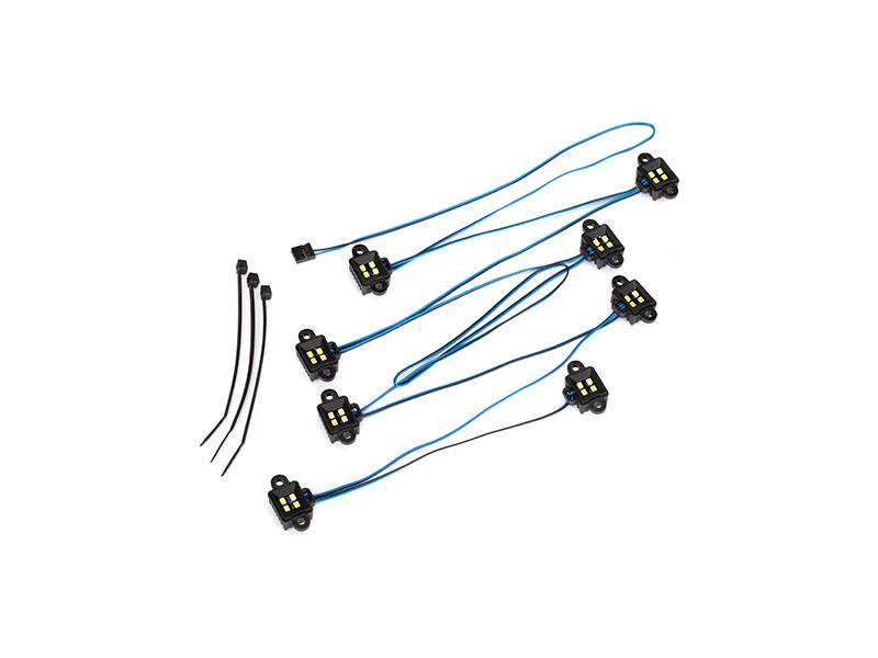 Traxxas LED osvětlení blatníků, Traxxas 8026X, TRA8026X