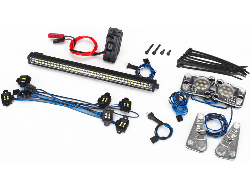 Traxxas LED osvětlení kompletní sada: TRX-4 Defender, Traxxas 8030, TRA8030