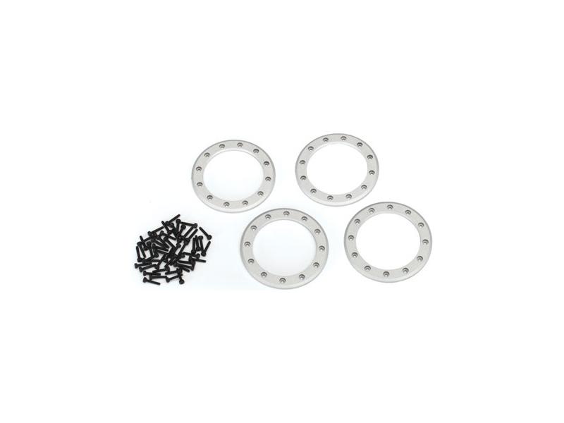 """Traxxas hliníkový beadlock kroužek 2.2"""" šedý (4), Traxxas 8168, TRA8168"""