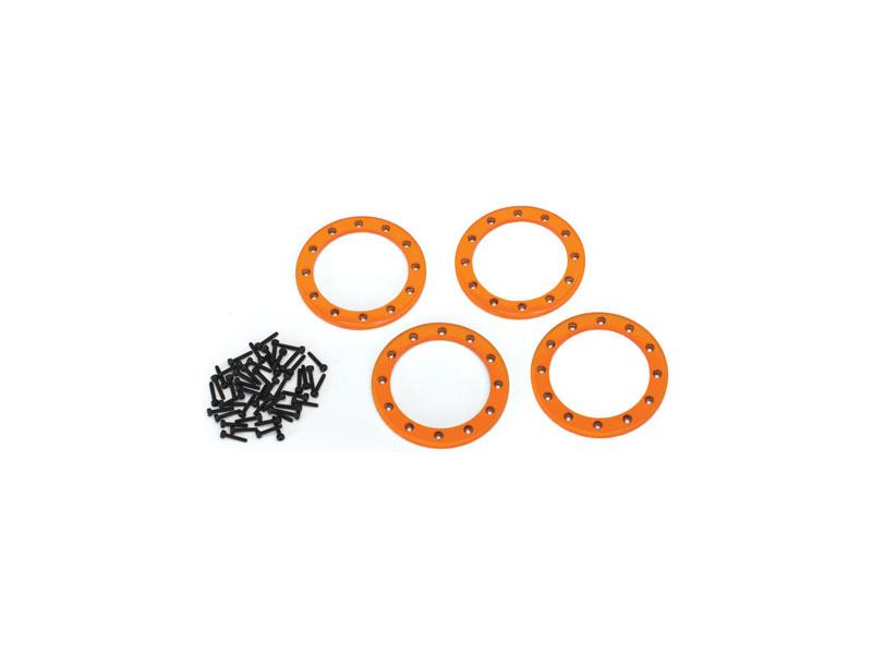 """Traxxas hliníkový beadlock kroužek 2.2"""" oranžový (4), Traxxas 8168A, TRA8168A"""