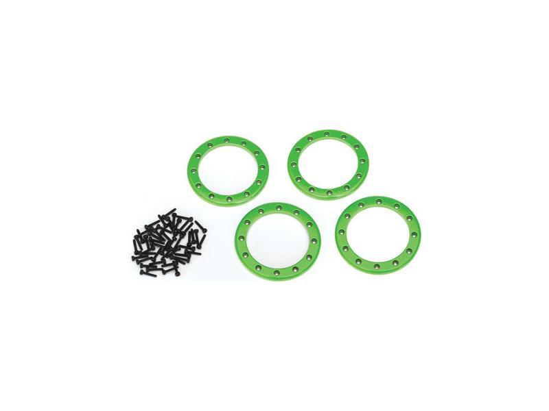 """Traxxas hliníkový beadlock kroužek 2.2"""" zelený (4), Traxxas 8168G, TRA8168G"""