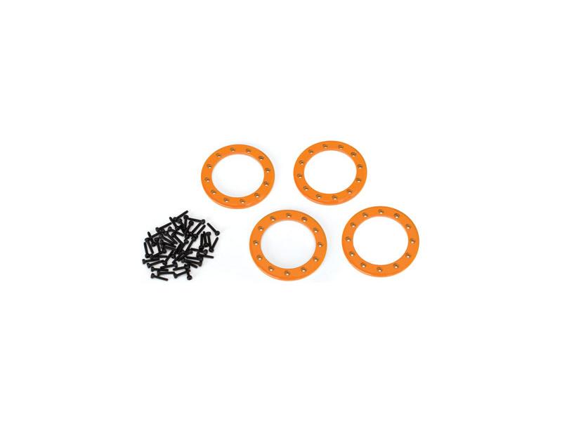 """Traxxas hliníkový Beadlock kroužek 1.9"""" oranžový (4), Traxxas 8169A, TRA8169A"""