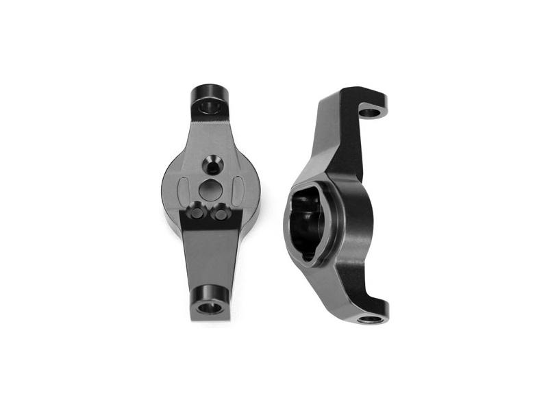 Traxxas závěs těhlice hliníkový šedý (pár): TRX-4, Traxxas 8232A, TRA8232A