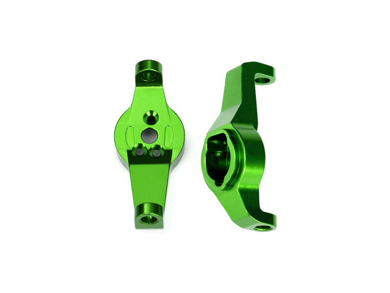 Traxxas závěs těhlice hliníkový zelený (pár): TRX-4, Traxxas 8232G, TRA8232G