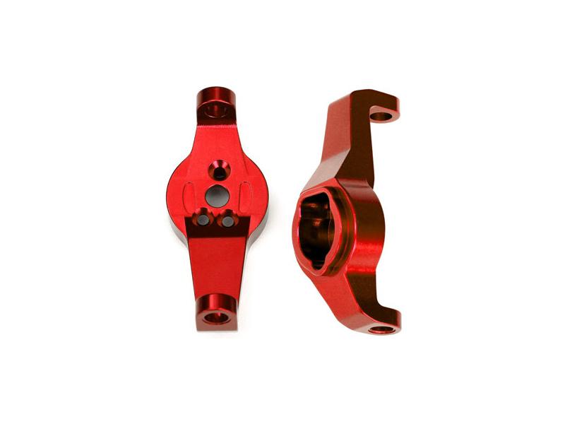 Traxxas závěs těhlice hliníkový červený (pár): TRX-4, Traxxas 8232R, TRA8232R