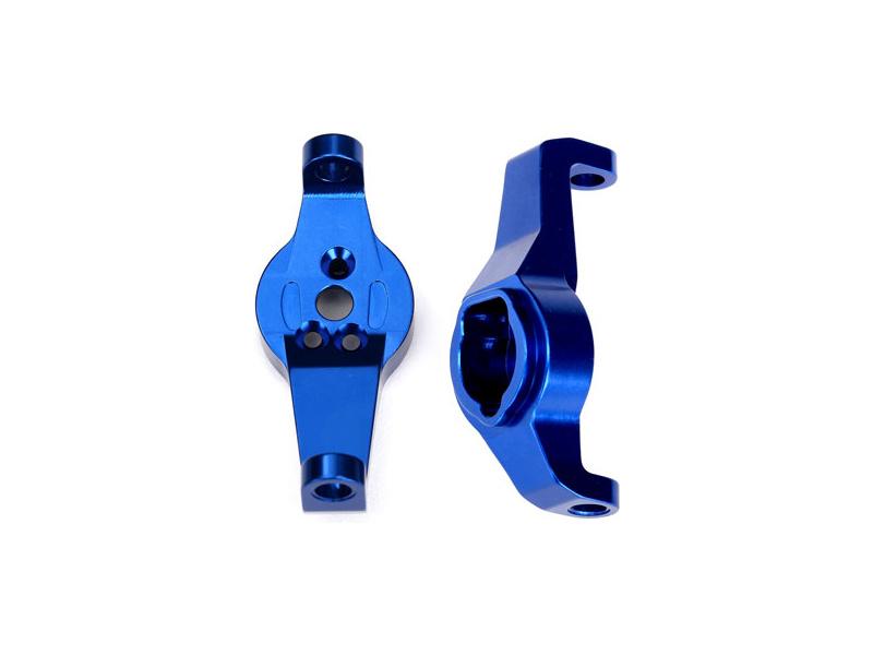 Traxxas závěs těhlice hliníkový modrý (pár): TRX-4, Traxxas 8232X, TRA8232X