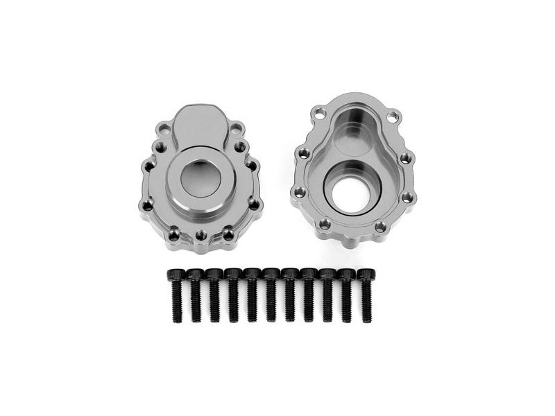 Traxxas vnější díl nápravy hliníkový šedý (2): TRX-4, Traxxas 8251A, TRA8251A