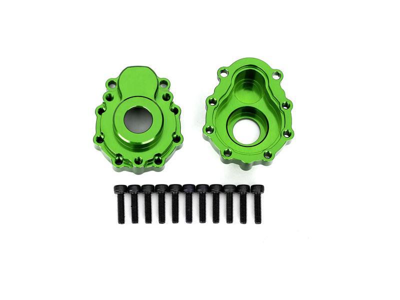 Traxxas vnější díl nápravy hliníkový zelený(2): TRX-4, Traxxas 8251G, TRA8251G