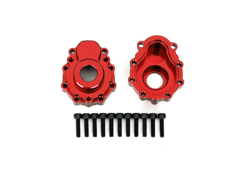 Traxxas vnější díl nápravy hliníkový červený (2): TRX-4, Traxxas 8251R, TRA8251R