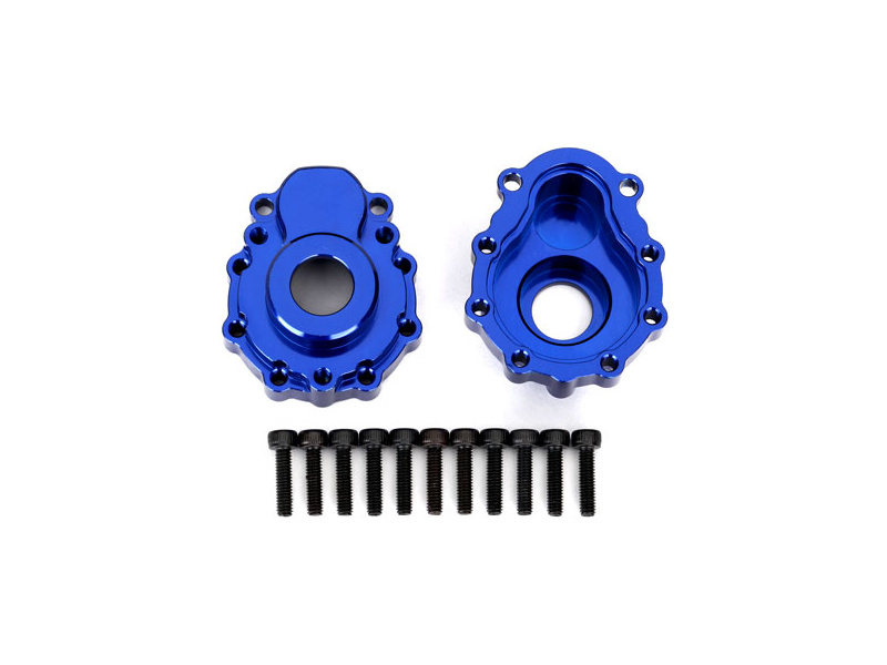 Traxxas vnější díl nápravy hliníkový modrý (2): TRX-4, Traxxas 8251X, TRA8251X