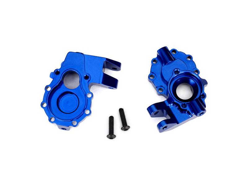 Traxxas vnitřní díl přední nápravy hliníkový modrý (2): TRX-4, Traxxas 8252X, TRA8252X