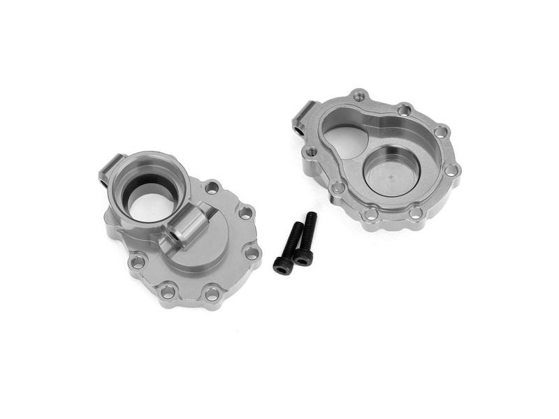 Traxxas vnitřní díl zadní nápravy hliníkový šedý (2): TRX-4, Traxxas 8253A, TRA8253A
