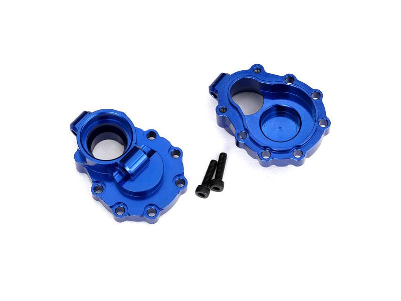 Traxxas vnitřní díl zadní nápravy hliníkový modrý (2): TRX-4, Traxxas 8253X, TRA8253X