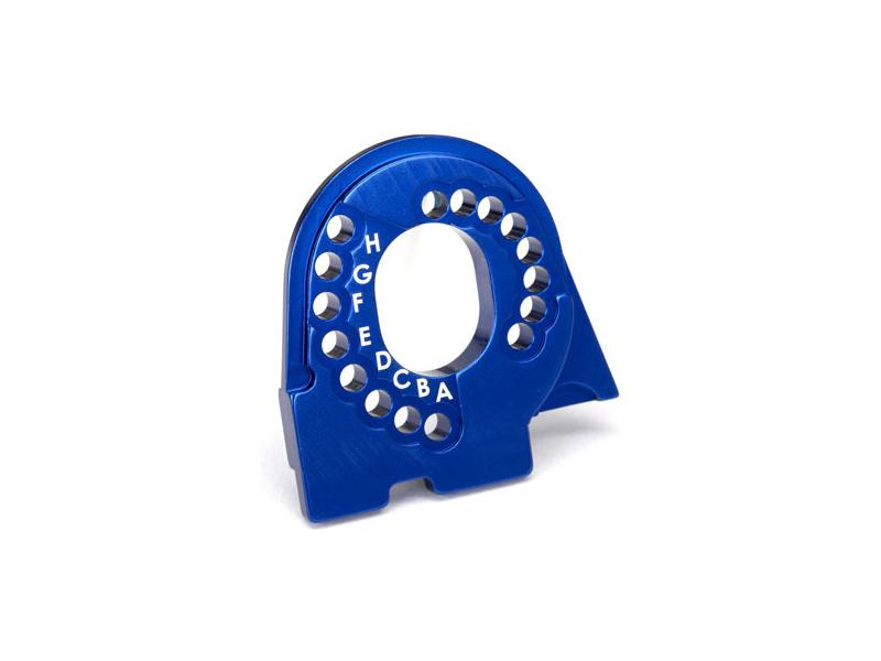 Traxxas lože motoru hliníkové modré: TRX-4, Traxxas 8290X, TRA8290X