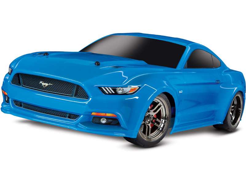 Traxxas 4-Tec 2.0 Ford Mustang GT Grabber modrý  1:10 TQ RTR, TRA83044-4,  Traxxas 83044-4 BLUEX
