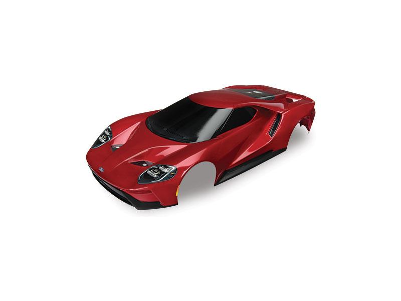 Traxxas karosérie Ford GT červená: 4-Tec 2.0, Traxxas 8311R, TRA8311R