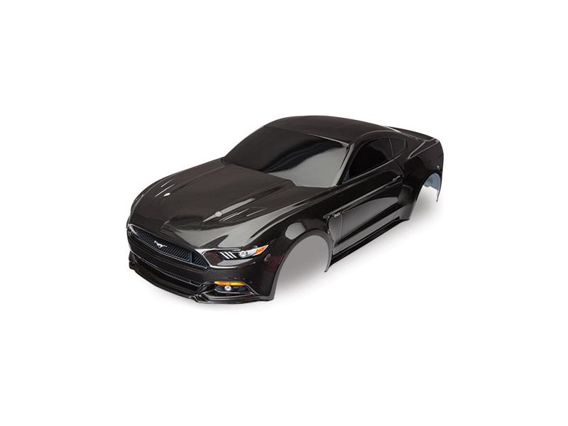 Traxxas karosérie Ford Mustang černá: 4-Tec 2.0, TRA8312X
