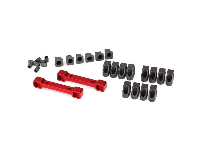 View Product - Traxxas spojky ramen závěsu kol hliníkové červené: 4-Tec 2.0