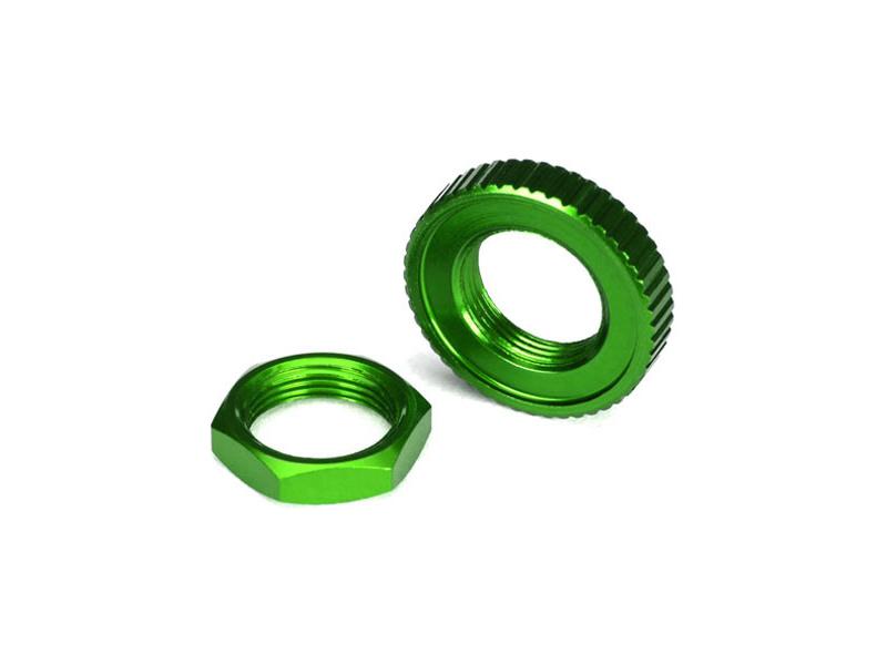 Náhled produktu - Traxxas servo saver hliníkový zelený: 4-Tec 2.0