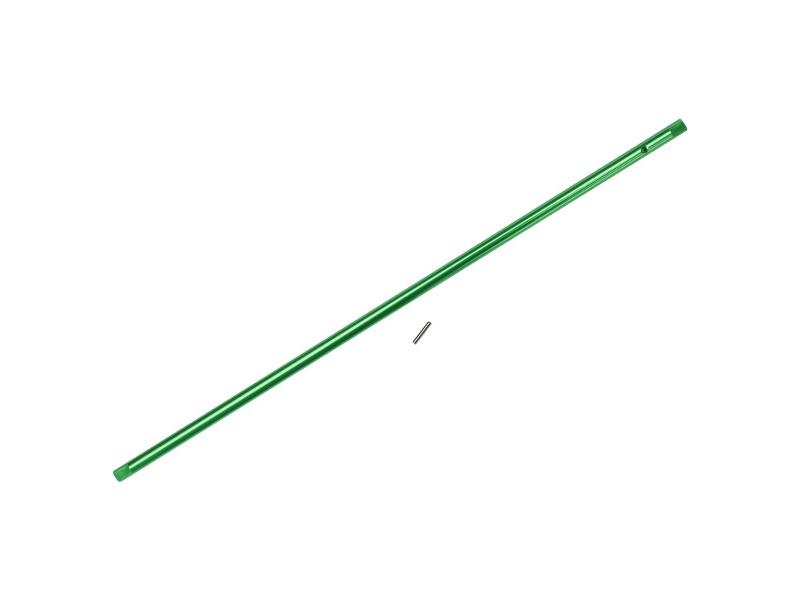 Náhled produktu - Traxxas centrální hřídel hliníková zelená: 4-Tec 2.0